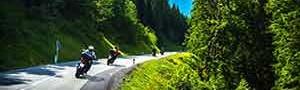 Con le offerte dell'Hotel Loredana è bello viaggiare in moto in Valtellina